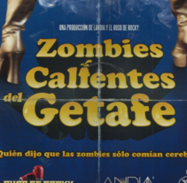"""Getafe C.F., """"Zombies Calientes del Getafe"""". A Advertising, and Art Direction project by Amaia Ugarte         - 31.07.2012"""