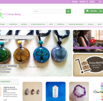 Tienda online Reiki. A Motion Graphics, Photograph, Web Design, Web Development, and Video project by Chelo Fernández Díaz - Aug 05 2016 12:00 AM