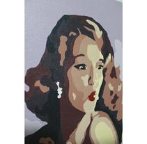 Cuadro publicitario años 50. Un proyecto de Bellas Artes y Pintura de Iliyana Nicolaeva Coleva         - 09.08.2016