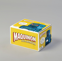 Maquinon. A Graphic Design, and Packaging project by Estudio Maba         - 11.08.2016