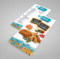 Frozen Food | Alimentos Congelados - Flyer. A Editorial Design, and Graphic Design project by Ana Silva         - 14.11.2014