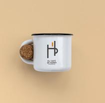 El Café de Harry. Un proyecto de Diseño, Dirección de arte, Br e ing e Identidad de Carlo Paredes - 21-08-2016