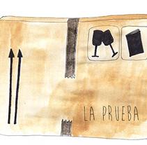Prueba de impresión. A Illustration project by Patricia Cornellana         - 24.08.2016