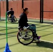 Reportaje: Pádel sobre ruedas. A Film, Video, and TV project by Coral Aja Pérez         - 09.03.2015