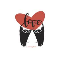 Con mucho amor. Un proyecto de Diseño, Diseño de personajes, Diseño gráfico y Diseño de producto de Marta  Salvador Mancho - 26-08-2016