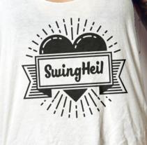 Camisetas de Swing. Un proyecto de Diseño, Dirección de arte, Diseño de vestuario, Moda y Diseño gráfico de susana lebrero casado         - 27.08.2016