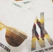 Diseño camisetas verano para Betwiins.. A Graphic Design project by Uri          - 29.08.2016