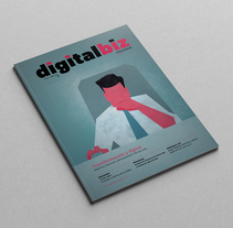Digital Biz Magazine. A Art Direction, Editorial Design, and Graphic Design project by Xana Morales         - 05.10.2015