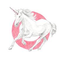 Unicorn. Um projeto de Ilustração e Artes plásticas de Cristina Iglesias         - 06.09.2016