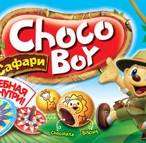 Packaging para Chocoboy. Um projeto de Design, Ilustração e Packaging de Yana Makhlina         - 11.09.2016