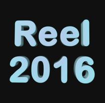 Reel 2016. Um projeto de Motion Graphics, 3D e Tipografia de Rebeca G. A         - 12.09.2016
