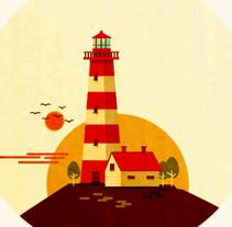 The Lighthouse . Um projeto de Ilustração, Motion Graphics e Animação de Maria Dolores Abujas         - 13.09.2016