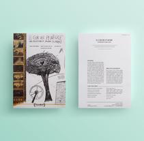 EL COR DEL PI NEGRE / PRESSBOOK . Um projeto de Design gráfico de mermerdesign         - 15.09.2016