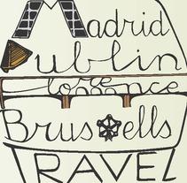Travel Bucket List Lettering. Un proyecto de Diseño gráfico de María Hoyos Gutiérrez         - 28.04.2016