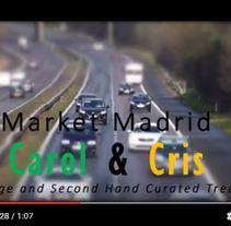 Carol&Cris en el LostandFound Market de Madrid. Um projeto de Br e ing e Identidade de Carolina Fresneda Lorente         - 26.09.2016