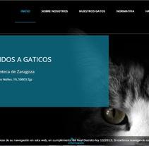 Gaticos Zgz. Un proyecto de Diseño Web y Desarrollo Web de JARA AINOZA FARLED         - 27.09.2016