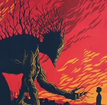 Un Monstruo viene a verme. Un proyecto de Ilustración de Andreu Zaragoza         - 02.10.2016