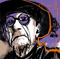 Marià Villangómez_Institut d'Estudis Eivissencs. Un proyecto de Ilustración, Publicidad, Diseño editorial, Educación y Pintura de Víctor Escandell - 04-10-2016