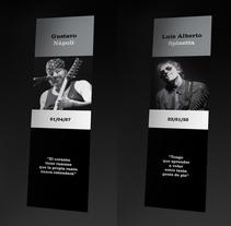 Señaladores de Libros. Un proyecto de Música, Audio, Diseño editorial y Diseño gráfico de Rodrigo Alfaro         - 09.10.2016