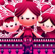 VIVE CDMX. Un proyecto de Diseño, Ilustración, Diseño de personajes y Diseño gráfico de josue arzate         - 11.10.2016