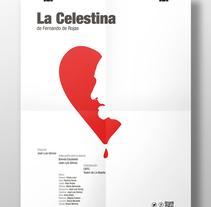 Cartel-La Celestina. Um projeto de Publicidade, Direção de arte e Design gráfico de Javier López         - 11.10.2016