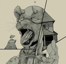 Fish & Bird. Un proyecto de Diseño, Ilustración, Diseño de personajes y Bellas Artes de Dhani Barragán - 17-10-2016