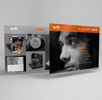 Diseño web responsive - Portfolio. A Web Design project by Javier Salman         - 15.12.2016