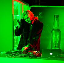 Heineken Visionado de la Champions 2016. Um projeto de Direção de arte de Carlos Casado         - 27.07.2016