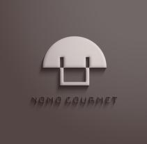 NOMO GOURMET  Restaurant. Un proyecto de Br, ing e Identidad y Diseño gráfico de Lidia Lobato - 04-10-2016