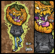 Dulce o Trick ! . Un proyecto de Ilustración, Animación y Diseño de personajes de Daniel Carrillo         - 30.10.2016