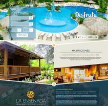 Pagina web - La Ensenada Resort. Un proyecto de Diseño Web de Josue Muñoz Echeverría         - 02.11.2016