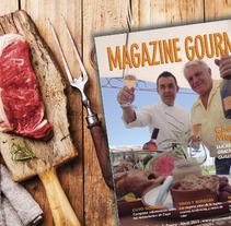 Magazine Gourmet. Um projeto de Design e Design editorial de Maria Eugenia Leiva         - 07.08.2013