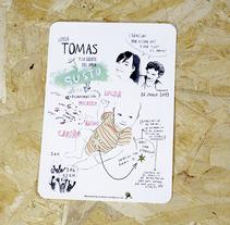 TOMÁS y la suerte del amor. Um projeto de Ilustração de Josune Urrutia Asua         - 03.11.2013