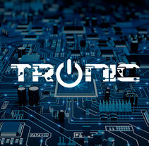 TRONIC / IDENTIDAD CORPORATIVA. A Br, ing&Identit project by Fortunato David         - 05.11.2016