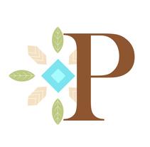 Diseño de letra capitular de cuento de Pocahontas. Un proyecto de Diseño y Diseño editorial de Mayte Molina         - 06.02.2015