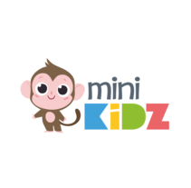 MiniKidz Logo. A Character Design project by Núria  Aparicio Marcos - Nov 08 2016 12:00 AM
