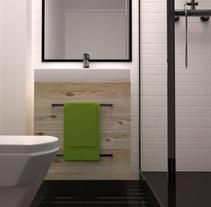 Infografía baño II. A 3D&Information Architecture project by Violeta López Andrés         - 10.11.2016