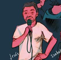 Crónica ilustrada de #NovaDirecta. Un proyecto de Comic de AndreA Lucio - 13-10-2014