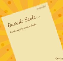 Tarjeta de Navidad. Un proyecto de Animación, Cop y writing de Andrea Bermúdez M.         - 19.12.2010