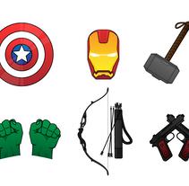 The First Avengers. Un proyecto de Diseño, Ilustración, Br, ing e Identidad, Diseño gráfico y Comic de Natanael Becerra Andrade         - 15.09.2016