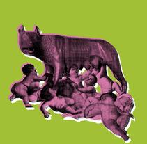 Ilustración para el fanzine Grapa 10 -barra libre-. Un proyecto de Ilustración y Collage de Sergio Alvarez         - 18.11.2016