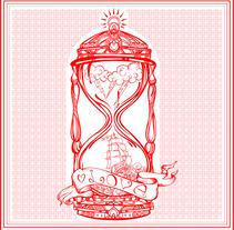 SandClock Illustration. Un proyecto de Diseño, Ilustración y Diseño gráfico de zstudio - 13-06-2016