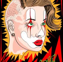 Clown  Girl - Sonrie a la vida!. Un proyecto de Diseño, Ilustración y Diseño gráfico de zstudio - 28-02-2015
