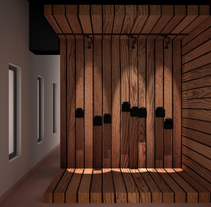 Expositor II. A 3D&Interior Architecture project by Violeta López Andrés         - 26.11.2016
