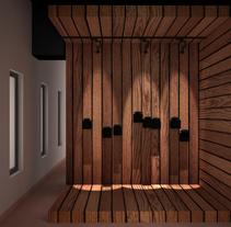 Expositor II. Un proyecto de 3D y Arquitectura interior de Violeta López Andrés         - 26.11.2016