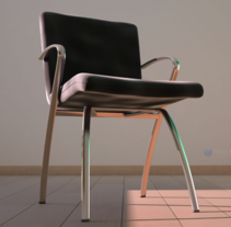 Chair 3D . Um projeto de Arquitetura de interiores de Daniel Esteban Restrepo Marin         - 28.11.2016