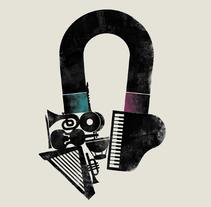 Conciertos del Auditorio Príncipe Felipe. Un proyecto de Música, Audio, Diseño editorial y Diseño gráfico de Juan Jareño  - 29-11-2016
