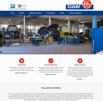 Taser 24 Horas. A Design, Web Design, and Web Development project by Plat-on.es           - 29.11.2016