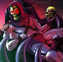 Skeletor Fan Art. Masters of the Universe illustration.. A Illustration, and Comic project by carlos rios esarte         - 30.11.2016