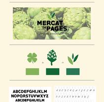 Mercat de pagès. Local i de proximitat.. Un proyecto de Diseño, Br, ing e Identidad y Diseño gráfico de Mireia Bogaz         - 06.12.2016